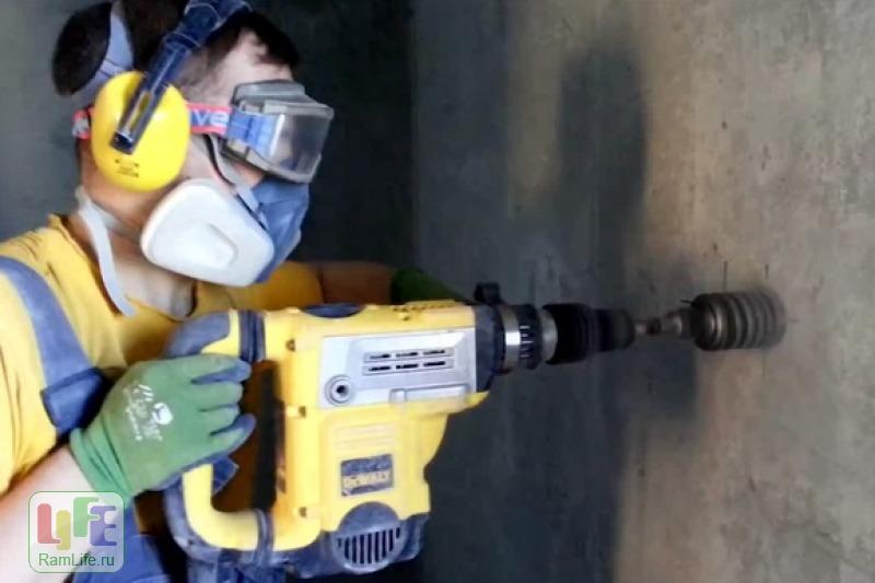 просверлит ли ударная дрель бетон